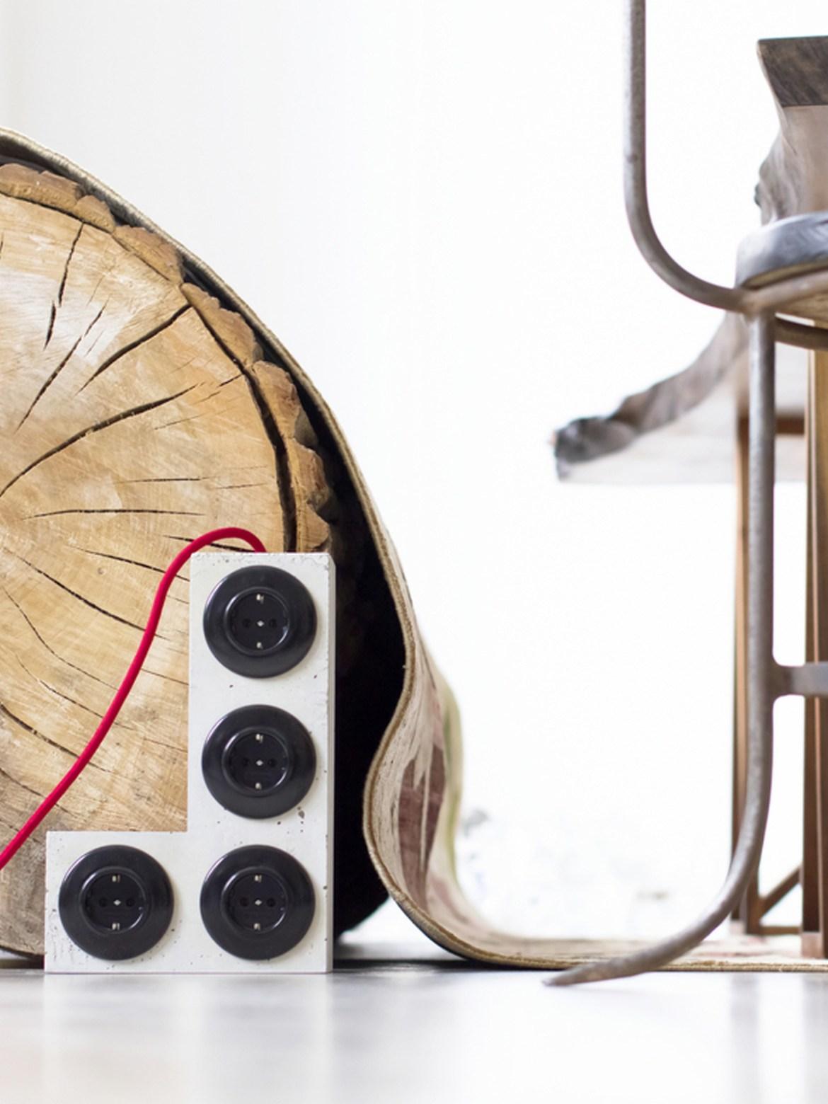 DesignOrt Blog: Design aus Berlin L Tetri Plug onkto Beton