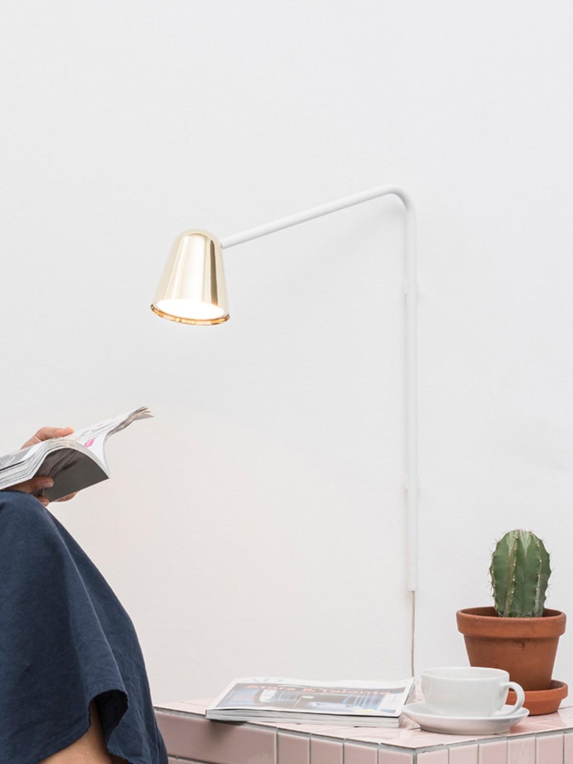 DesignOrt Blog: Leseleuchten LED Wandlampe mit Schalter Chaplin Wall Formagenda