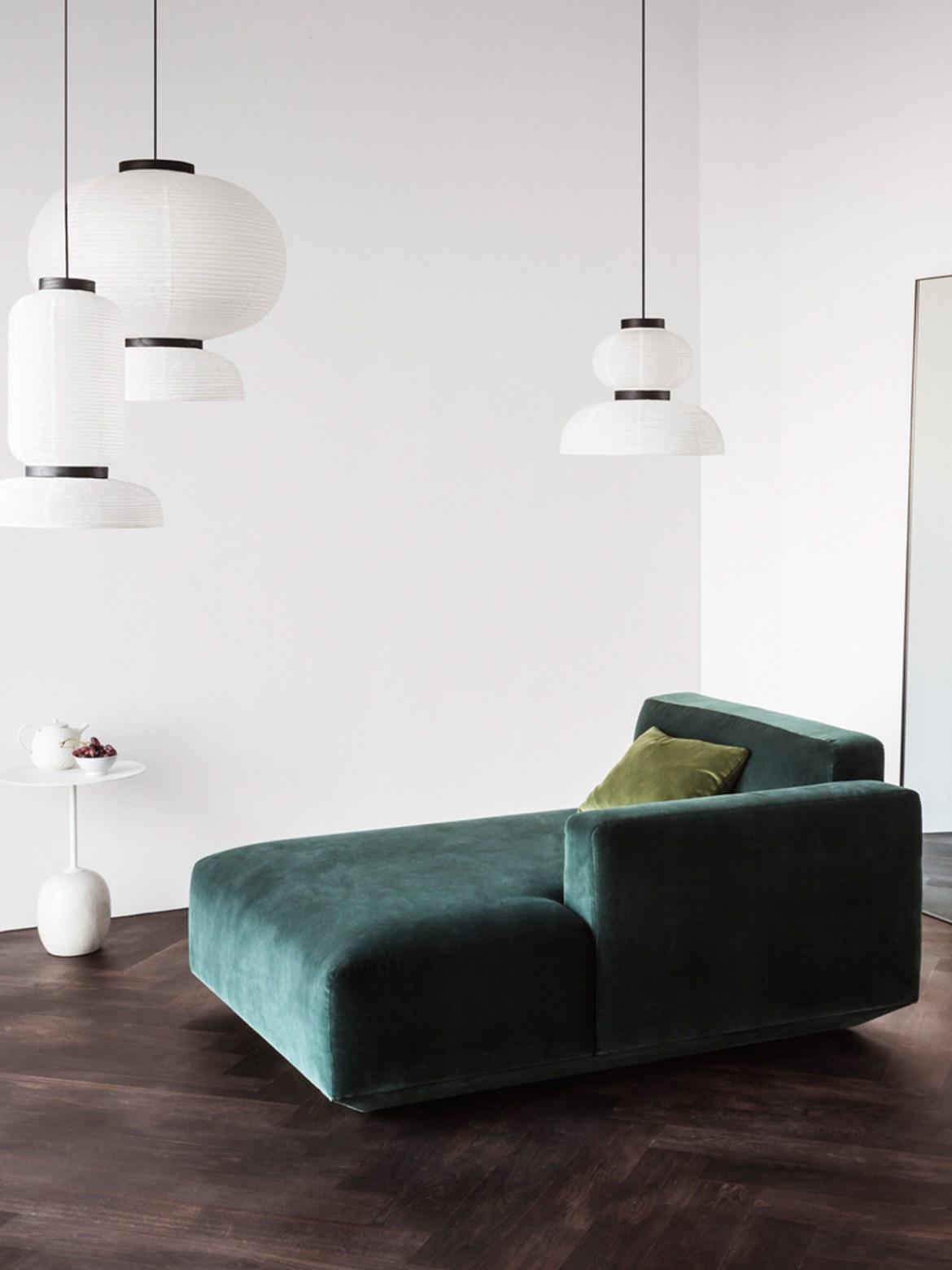 DesignOrt Blog: Asiatisches Design trifft auf Europa Pendelleuchten Formakami &tradition