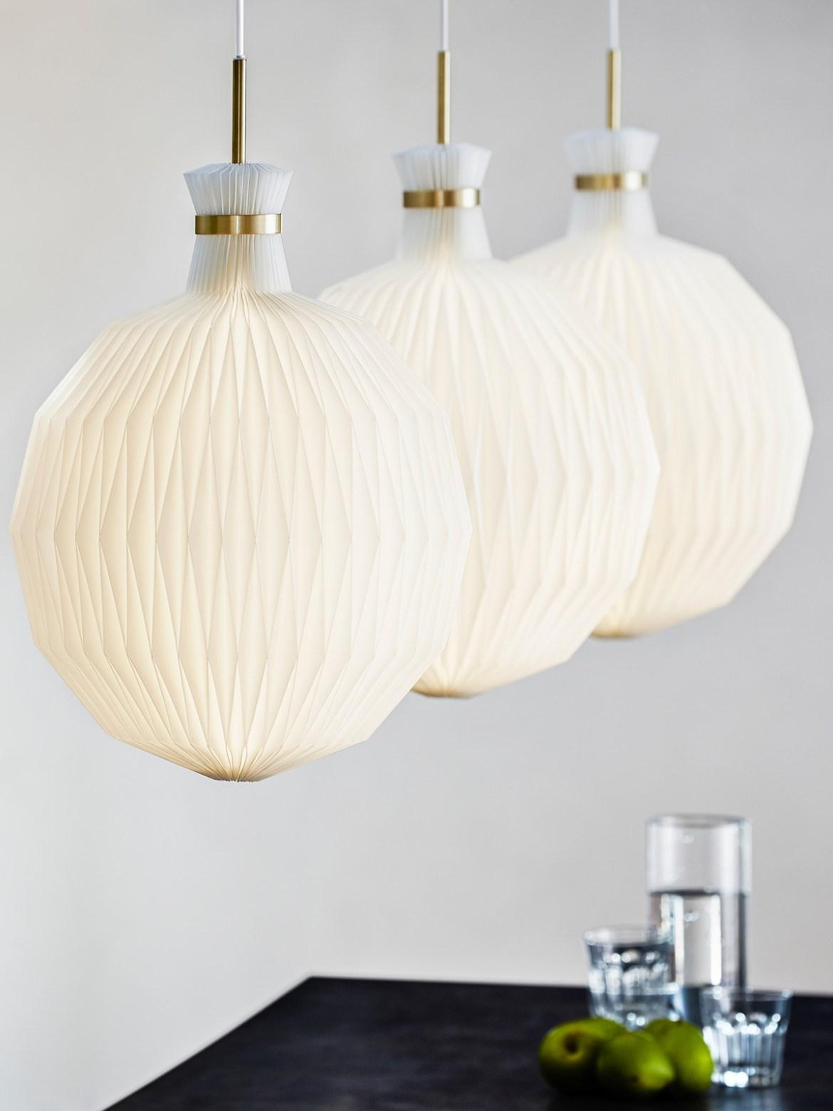 DesignOrt Lampen Blog: Retro Lampen Handgefaltete Lampe von Le Klint 101 XL