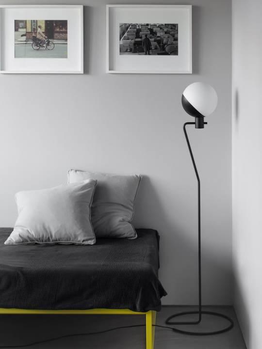 Stehlampe Baluna F Grupaproducts Opalglas