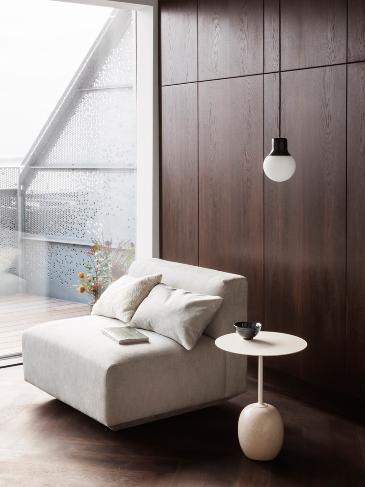 DesignOrt Blog: Designerleuchten aus Marmor Mass Light NA5 &tradition