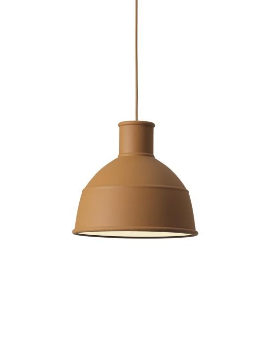 Lampe von Muuto Unfold in Ton