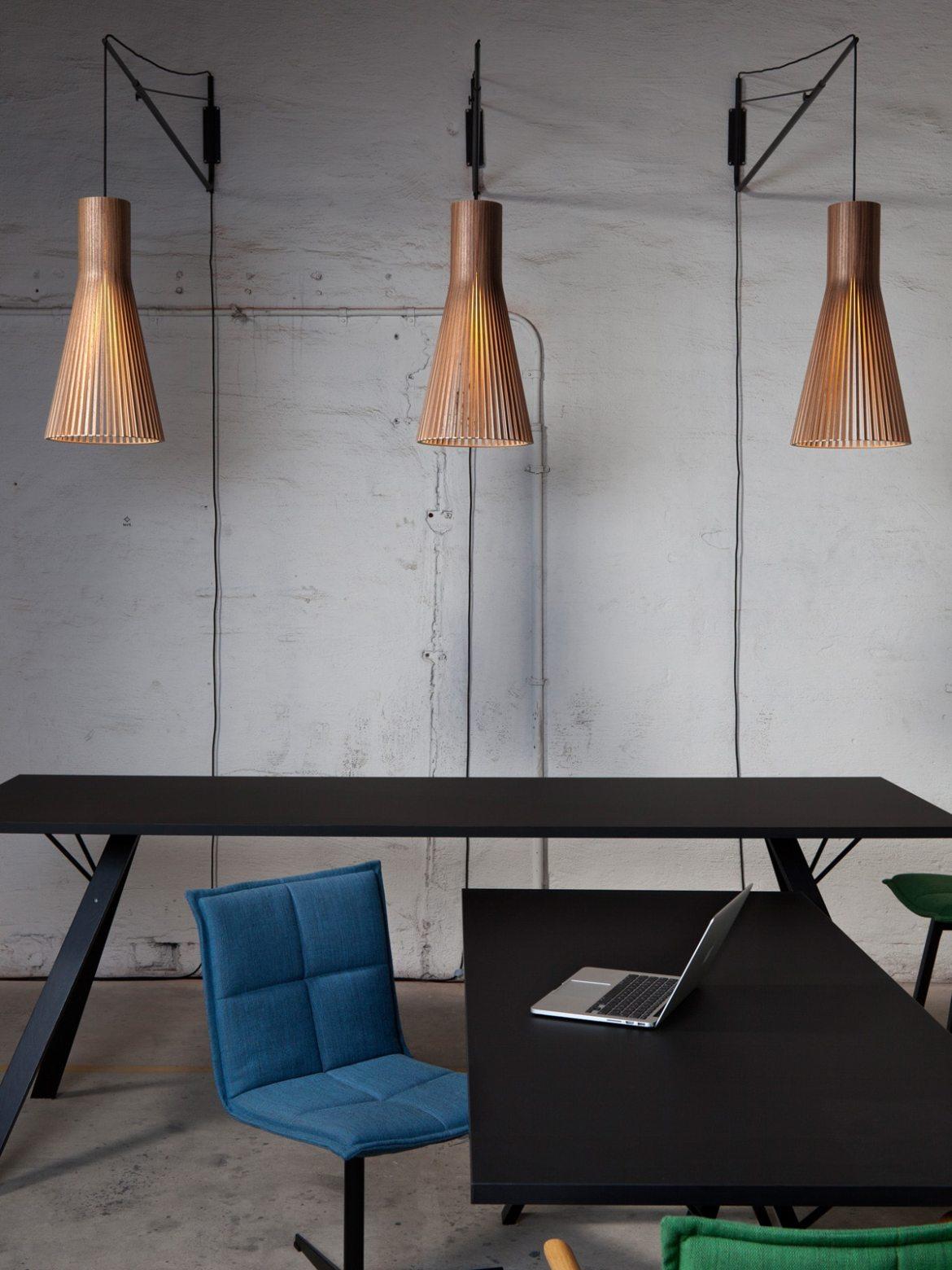 DesignOrt Blog: Multifunktionale Designerleuchten Wand Halterung für Secto Leuchten Varsi 1000