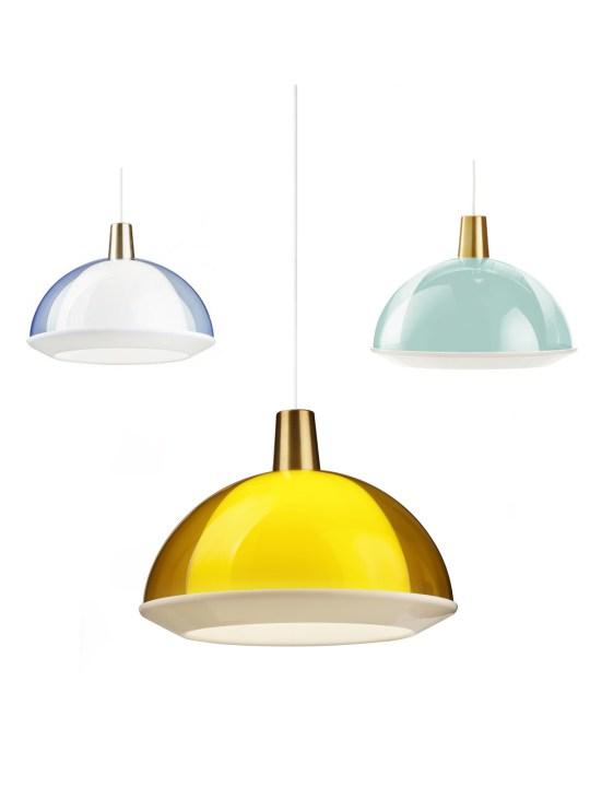 finnische Designklassiker Kuplat Lampe Innolux Orno
