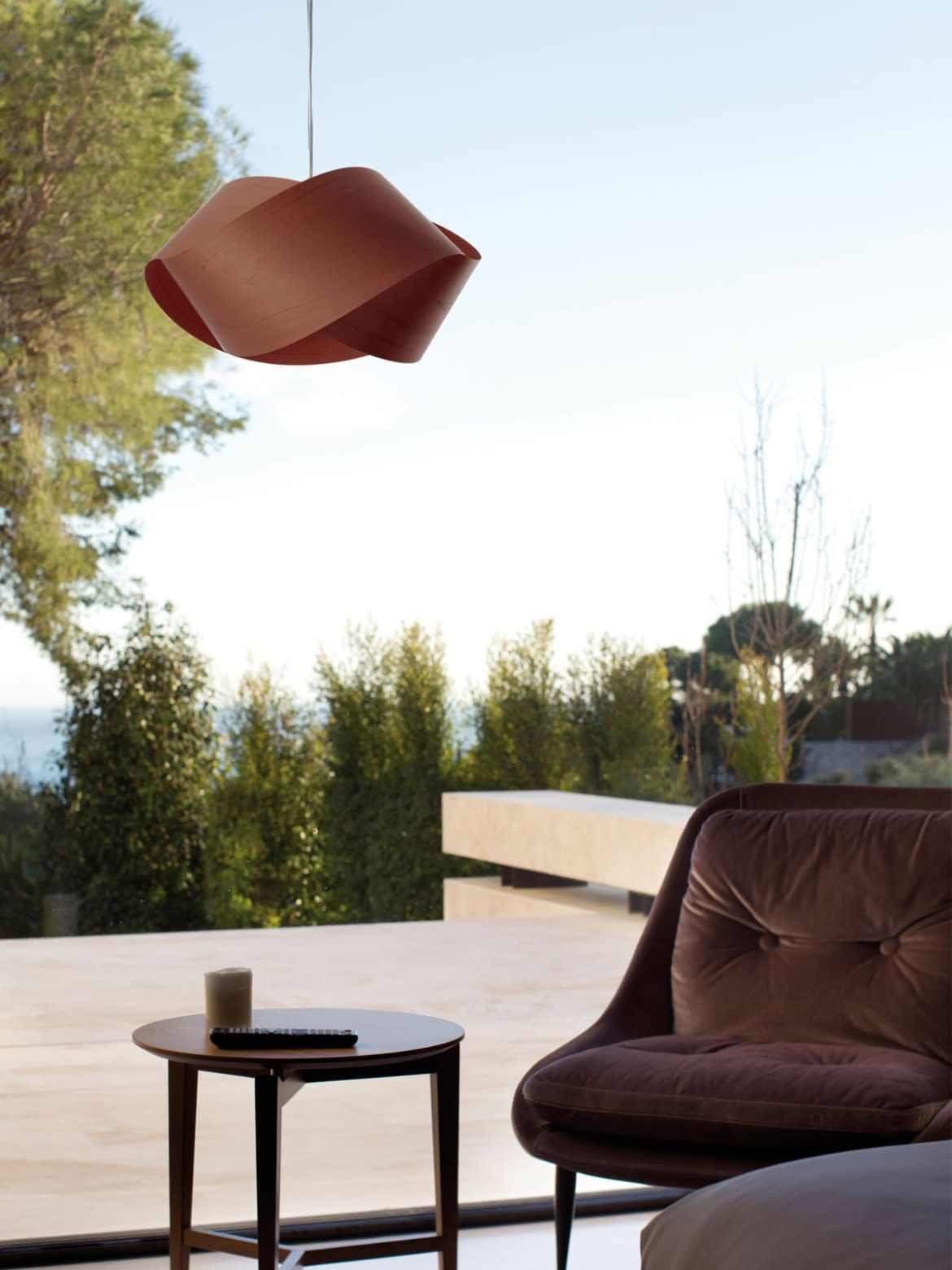 DesignOrt Blog: Faszination Farbe: Holzfurnier von LZF Lamps 31 chocolate LZF Lamps braun