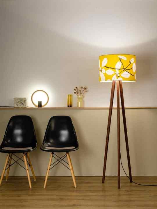 Tischlampe Rink Domus Licht und Sten Flower in Sun