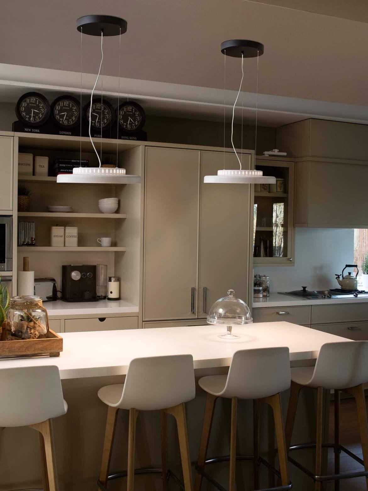 DesignOrt Blog: Spanische Designerleuchten Dome Pendelleuchte in Weiß von Faro