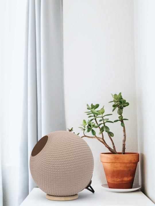 Polyluma Lampe Mono Table Holz Dina