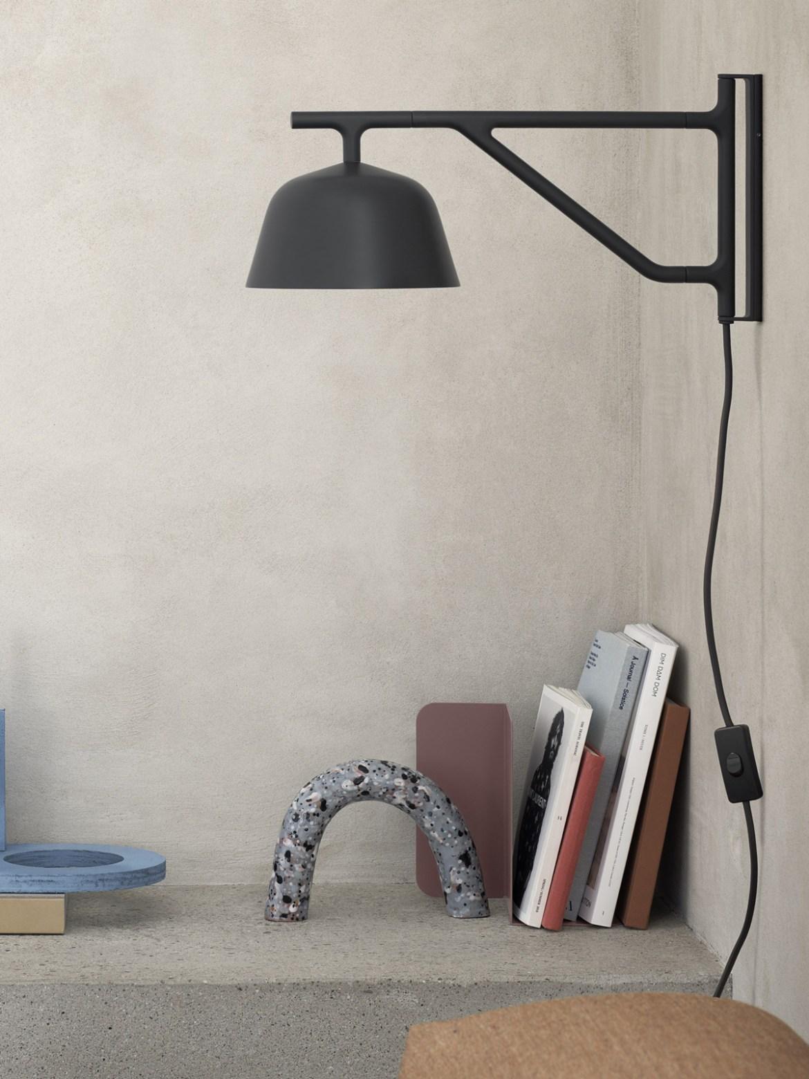 DesignOrt Blog: muuto Ambit Wall Wandleuchte mit schwenkbarem Arm