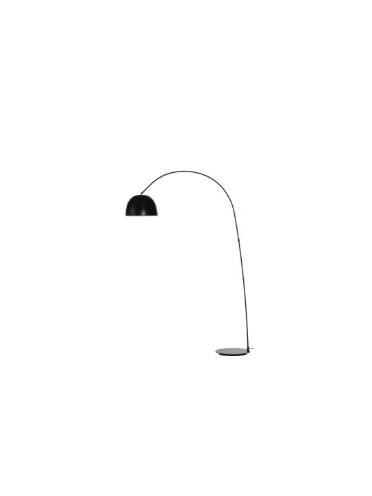 Bogenleuchte Bogenlampe Metall Schwarz Lucca Frandsen DesignOrt