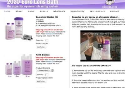 2020 Euro Lens Bath