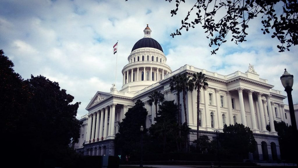California State Capitol Building, Sacramento, CA. Photo © 2018 Reid Walley. All rights reserved.