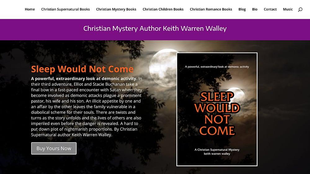 Website Design: Keith Warren Walley