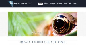 Website Impact Sciences WordPress 800