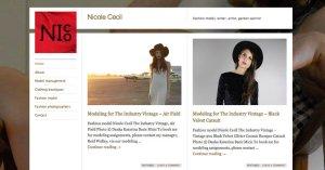 Website Nicole Cecil WordPress 800