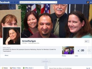 Toastmasters Political Marketing Campaign for Kristi Beres