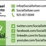 Business card design: Social Seltzer