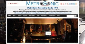 Metrosonic Recording Studio in Brooklyn New York 800