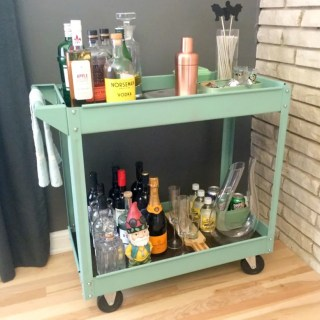 FANCY BAR CART
