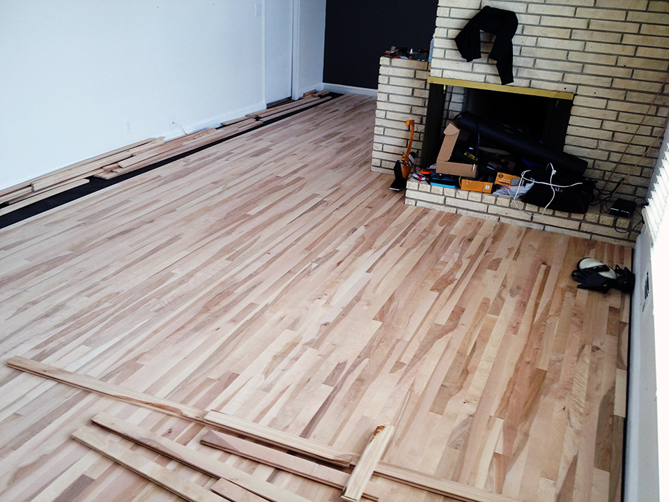 Got Woodfloors Installing Our Hardwood Floors Part 2