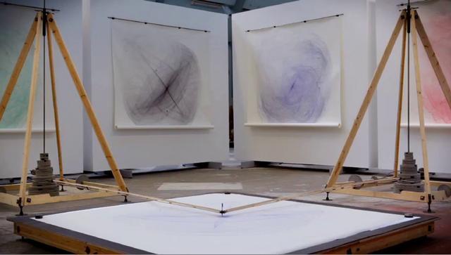 Drawingmachine, Eske Rex