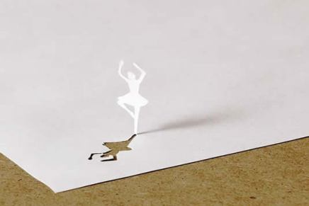 A4 papercut, Peter Callesen