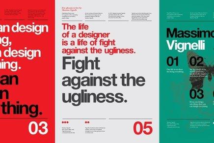 Tributo a Massimo Vignelli, Anthony Darts