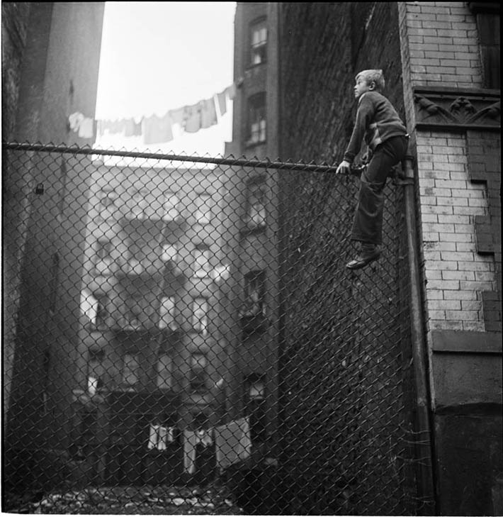 Shoe Shine Boys (On Fence) – 1947