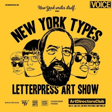 New York Types, Michael Canning e Kieran Antill su designplayground.it