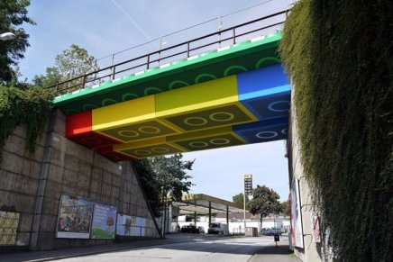 Un ponte di LEGO in Germania, megx