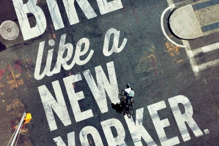 Bike like a New Yorker,  la campagna di Mother New York