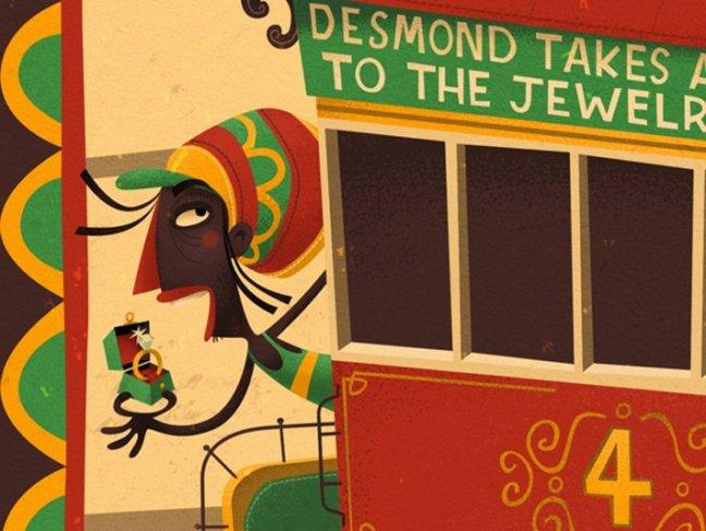 Le illustrazioni di Steve Simposn su designplayground.it