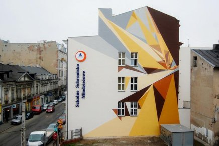 Galeria Urban Forms, una galleria a cielo aperto in Polonia