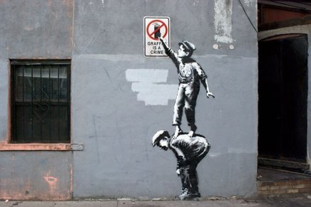 Banksy, Better out than in – Settimana 1 – 01 / 07 ottobre 2013