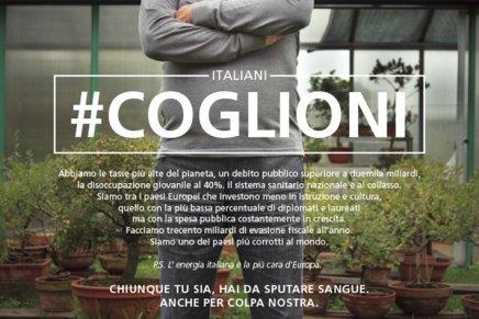 #COGLIONI, blumagenta (Vincent Moro)