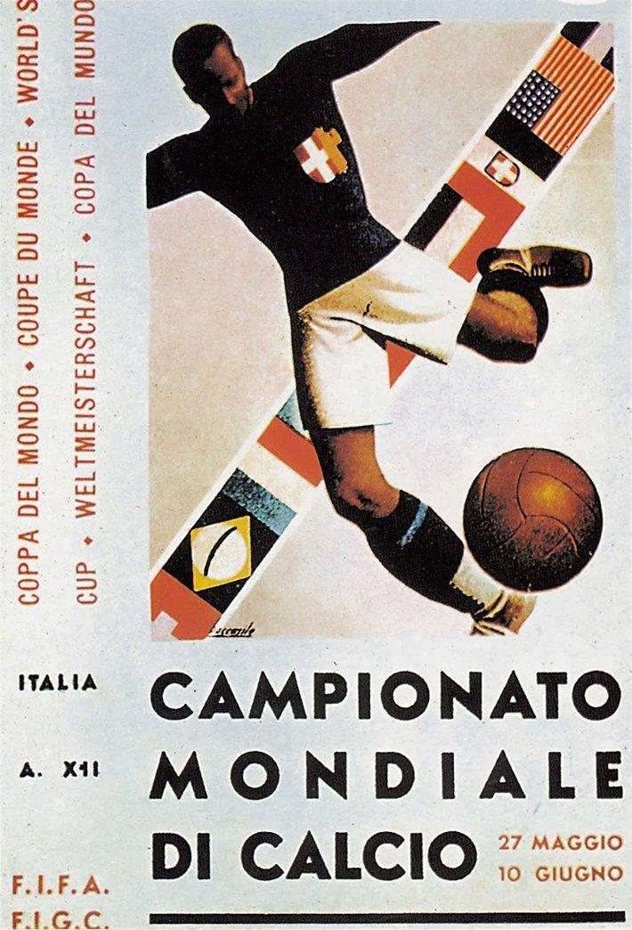 La storia dei Campionati del Mondo di Calcio attraverso i manifesti ufficiali