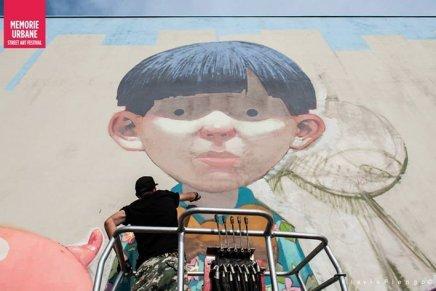 ETAM CRU, il video del murales di Gaeta per Memorie Urbane