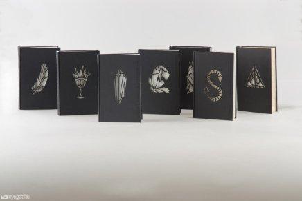 Kincső Nagy, le cover alternative per i romanzi di Harry Potter