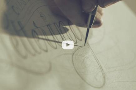 Ged Palmer, calligrafia e lettering