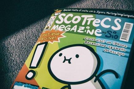 """""""Scottecs Megazine"""". Sio per Shockdom"""