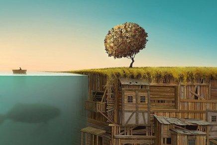 I paesaggi surreali di Gediminas Pranckevicius