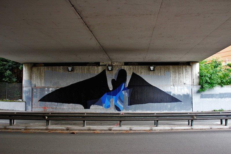 108_Batman_Via Silvio D'Amico_Roma_ITALY 2