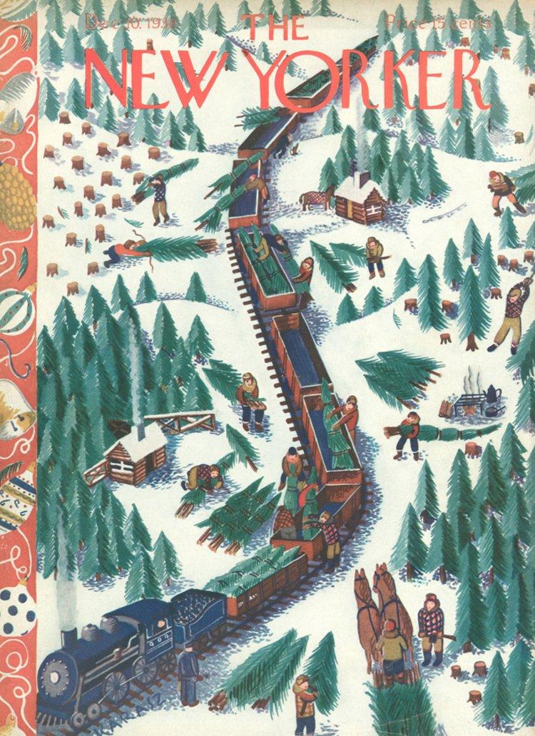 10 Dicembre 1938 : Cover art Ilonka Karasz