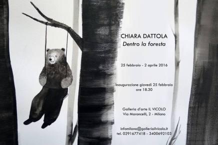 """""""Dentro la foresta"""", Chiara Dattola."""