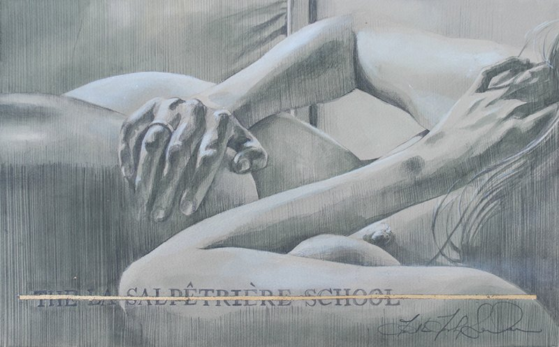 WK_Faith47_La Salpetriere School I, graphite and ink on archival paper, 37.5 x 23_designplayground