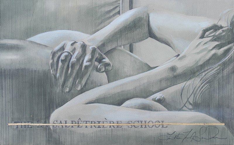 WK_Faith47_La Salpetriere School I, graphite and ink on archival paper, 37.5 x 23_designplayground