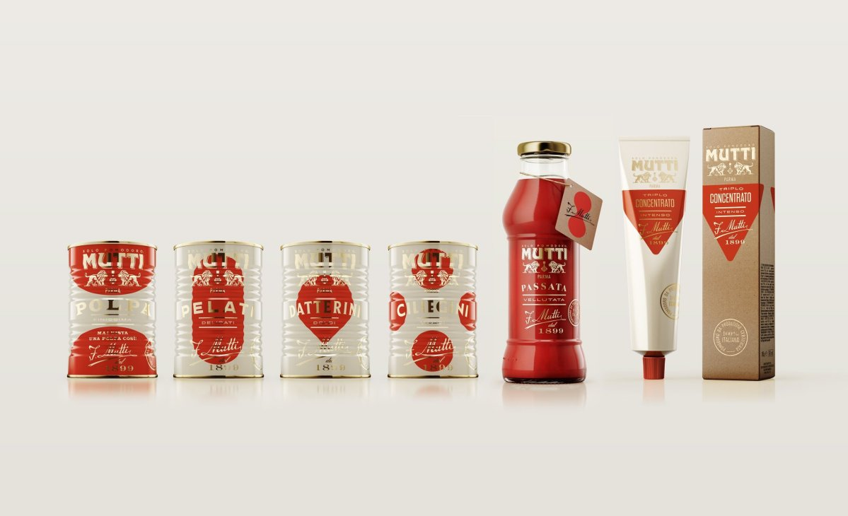 Mutti Limited Edition: Il packaging di Auge Design