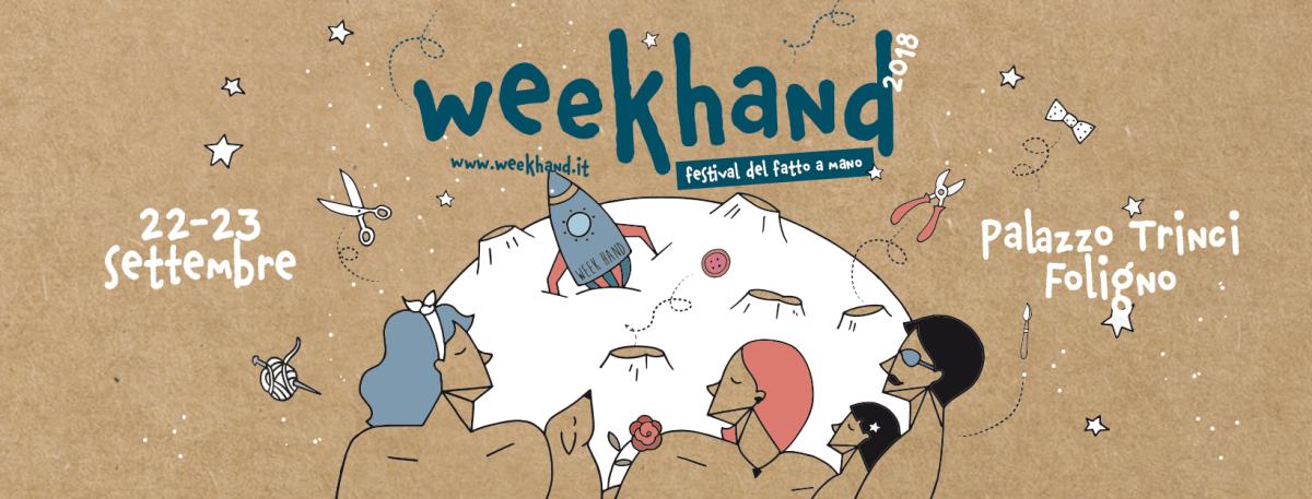 Arrivano gli artigiani spaziali! Pochi giorni alla quarta edizione di Week Hand.