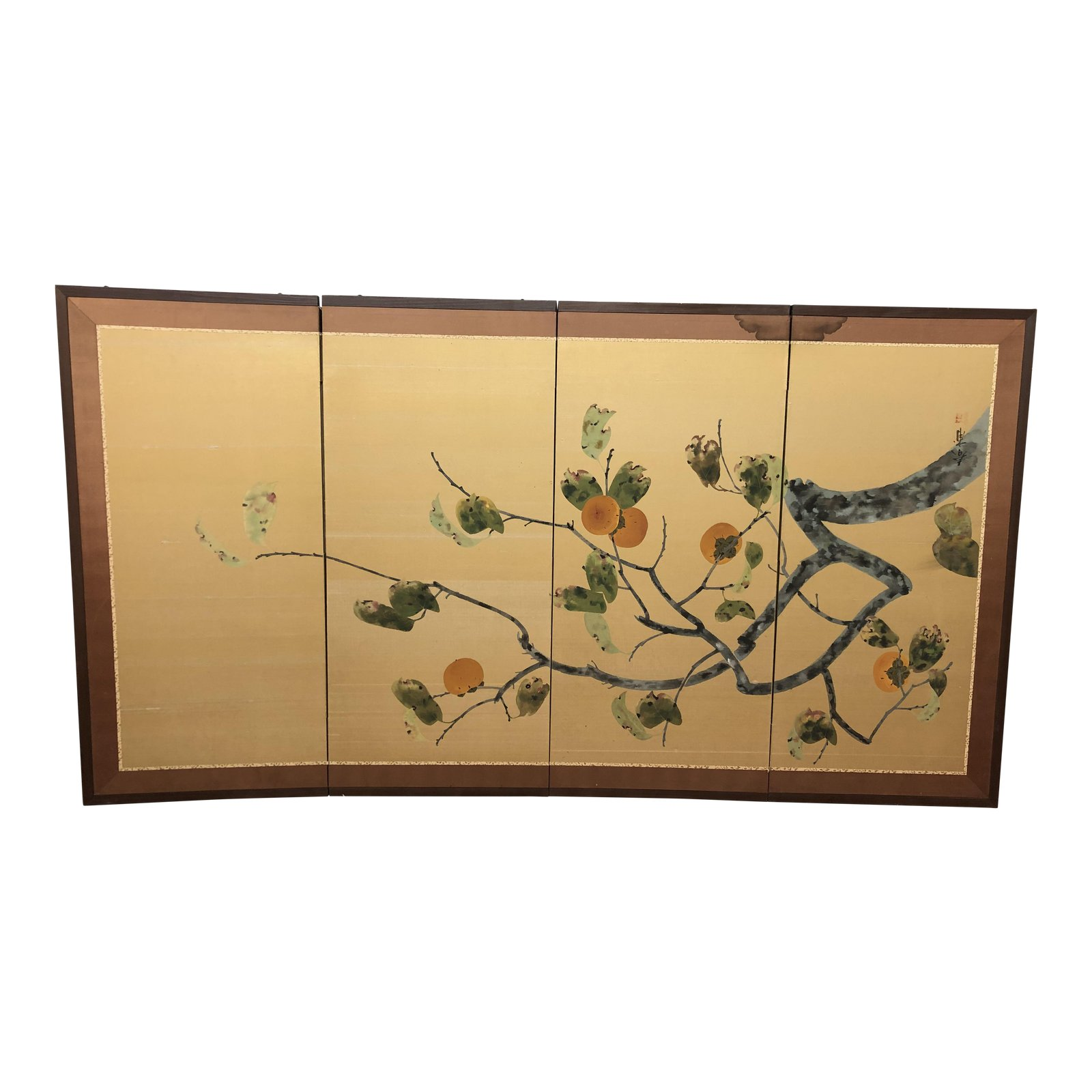 Asian Four Panel Screen Room Divider Design Plus Gallery
